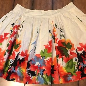 Forever 21 Watercolors Skirt